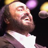 Pavarotti singing